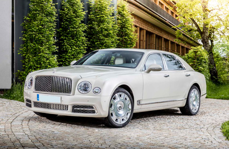 Bentley Mulsanne Hire Nottingham