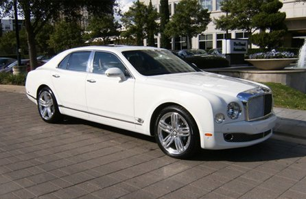 Bentley Mulsanne Hire Mansfield