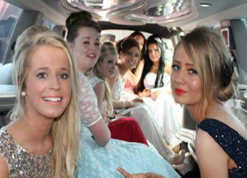 School Prom Limo Service